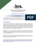 Glossario Investimento Social