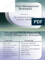 Conflict Management Strategies 08-03-09