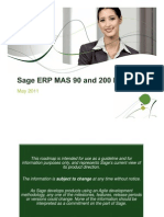 Sage MAS90 Roadmap May 2011