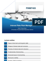 FINM7405 Interest Rate Risk 2011-W1