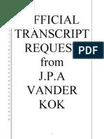 FULLER SEMINARY TRANSCRIPT REQUEST