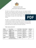 GSAT Brochure