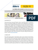 The Hidden Job Report for 5.23.11