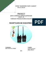 Proiect - Receptoare de Radiofrecventa