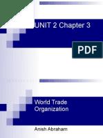WTO UNIT-2