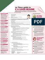 Writing Good Resume