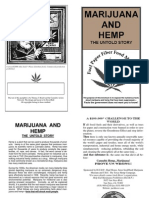 Marijuana and Hemp- The Untold Story