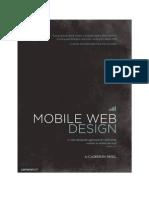 Mobile Web Design Preview