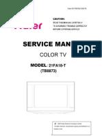 21FA18-T Service Manual