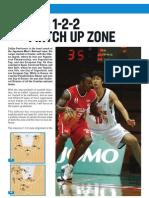 1-2-2 Matchup Zone - Zeljko Pavlicevic