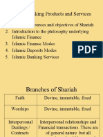 Islamic Banking Products & Services