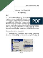 Microsoft Power Point 2002