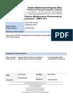 Workshop Proposal EMPS 2011