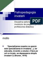 Psihopedagogia Invatarii Autor Conf Univ Dr Irina Maciuc