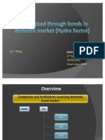 Funds Raised Through Bonds in Domestic