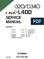 Canon Pc d320_d340 Fax l400