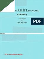 20110520-UK-Hargreaves UK IP Law Report-Summary