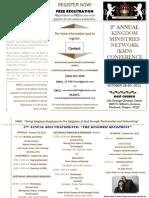 KMN Conference Brochure