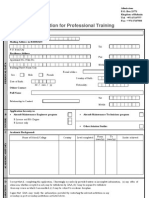 Engineering Application Form