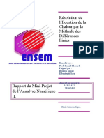 Rapport MDF