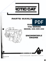 Arctic Cat Snowmobile Service Repair Manual 1999-2000