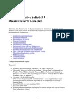 Dreamweaver CS5.5 — Lisez-moi