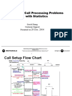 Determining Call Processing Problems With Statistics