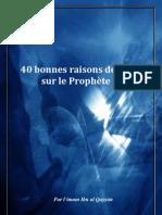 40 bonnes raisons de prier sur le Prophète