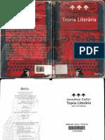 CULLER, Jonathan - Teoria literária - uma introdução