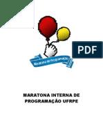 Maratona de Programação Interna da UFRPE - Patrocínio