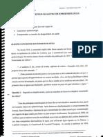 ALGUNS CONCEITOS BÁSICOS DE EPIDEMIOLOGIA