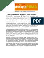NP BioEXPO inauguración