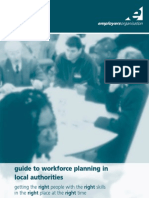 Workforce Planning in Local Authorities