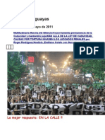 Noticias Uruguayas 21 Mayo 2011