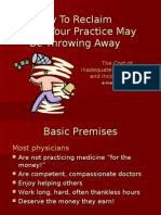 Money Your Practice May Be Throwing Away