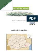 Conservação do solo em Araucária