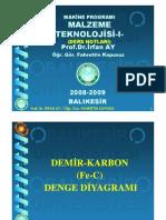 Malzeme Teknolojisi-4 Dersnotlari Balikesir