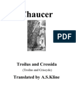 Chaucer - Troilus & Cressida