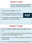 Chapter 9 - Graph