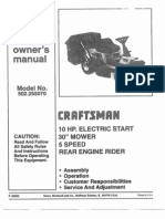 Mower Manual
