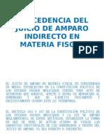 Procedencia Del Juicio de Amparo Indirecto en Materia Fiscal