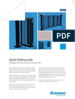 Quick Folding Gate 2p GB Hi