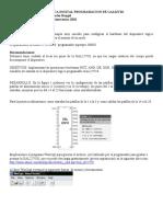Practica 3 de Electronic A Digital Programacion de Gal22v10