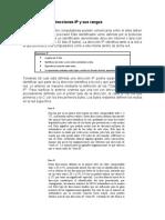 Clasificación de direcciones IP y sus rangos