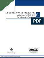 La Educacion Tecnologica