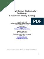 3. Evaluation Capacity Buliding