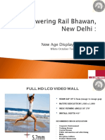 Powering Rail Bhawan,