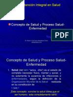 Introducción al proceso salud-enfermedad Dr. Danilo A. De Franco Montalván .Tutor