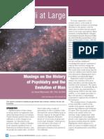 Musings on History of Psychiatry