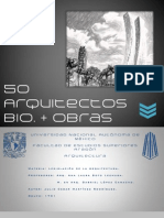 50 Arquitectos Bio+Obras